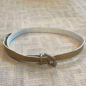 Macys Vintage Genuine Snake Skin Belt
